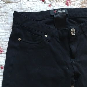 Guess ? Black stretchy jeggings